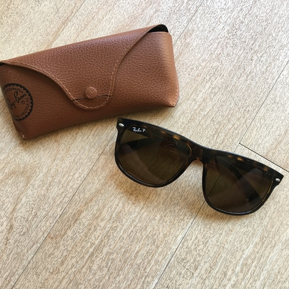 82a3be32e3e2 Rayban 4147 Unisex Tortoise Polerized Sunglasses. M 5b3e93c7c617778411e67544
